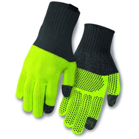 Giro Merino Wool Gants, grey/wild lime